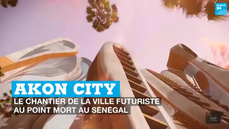 Sénégal : Akon City, le chantier de la ville futuriste au point mort