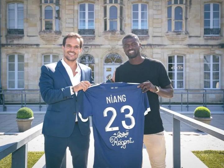 Mercato : Mbaye Niang à Bordeaux (officiel)