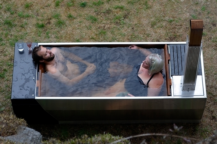 Ox Amp Monkey Soak Wood Fired Hot Tub
