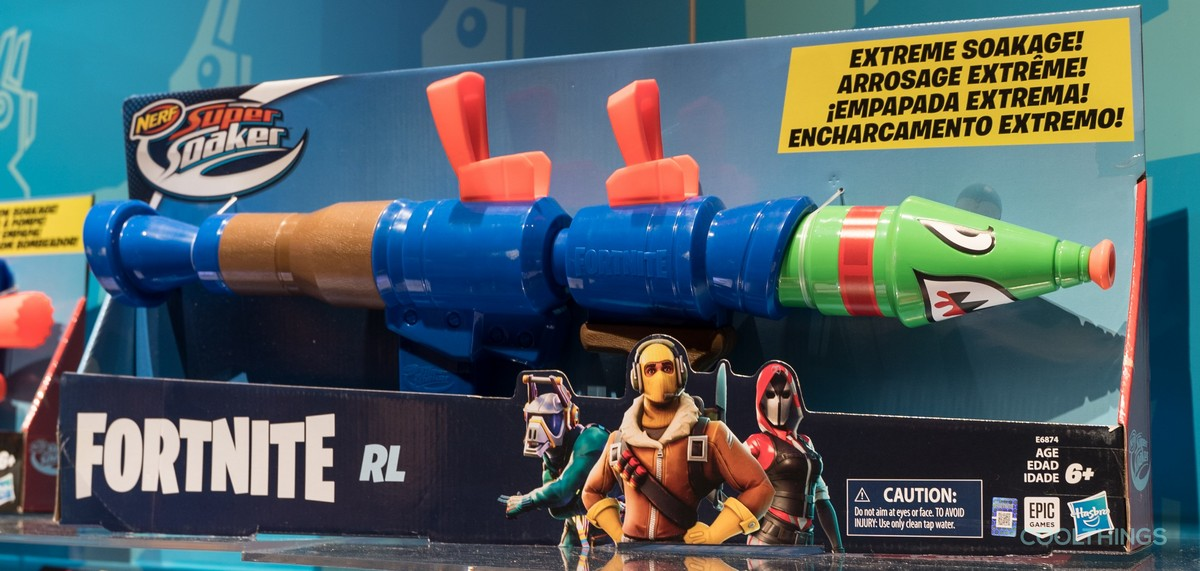 Nerfs Fortnite Blasters Bring The Battle Royale To Your Backyard