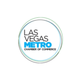 Circular logo of the Las Vegas Metro Chamber of Commerce.