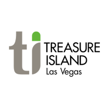 Logo for Teasure Island Hotel & Casino in Las Vegas, Nevada.