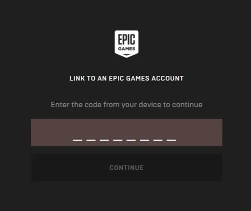 入力 epicgames activate https com www コード