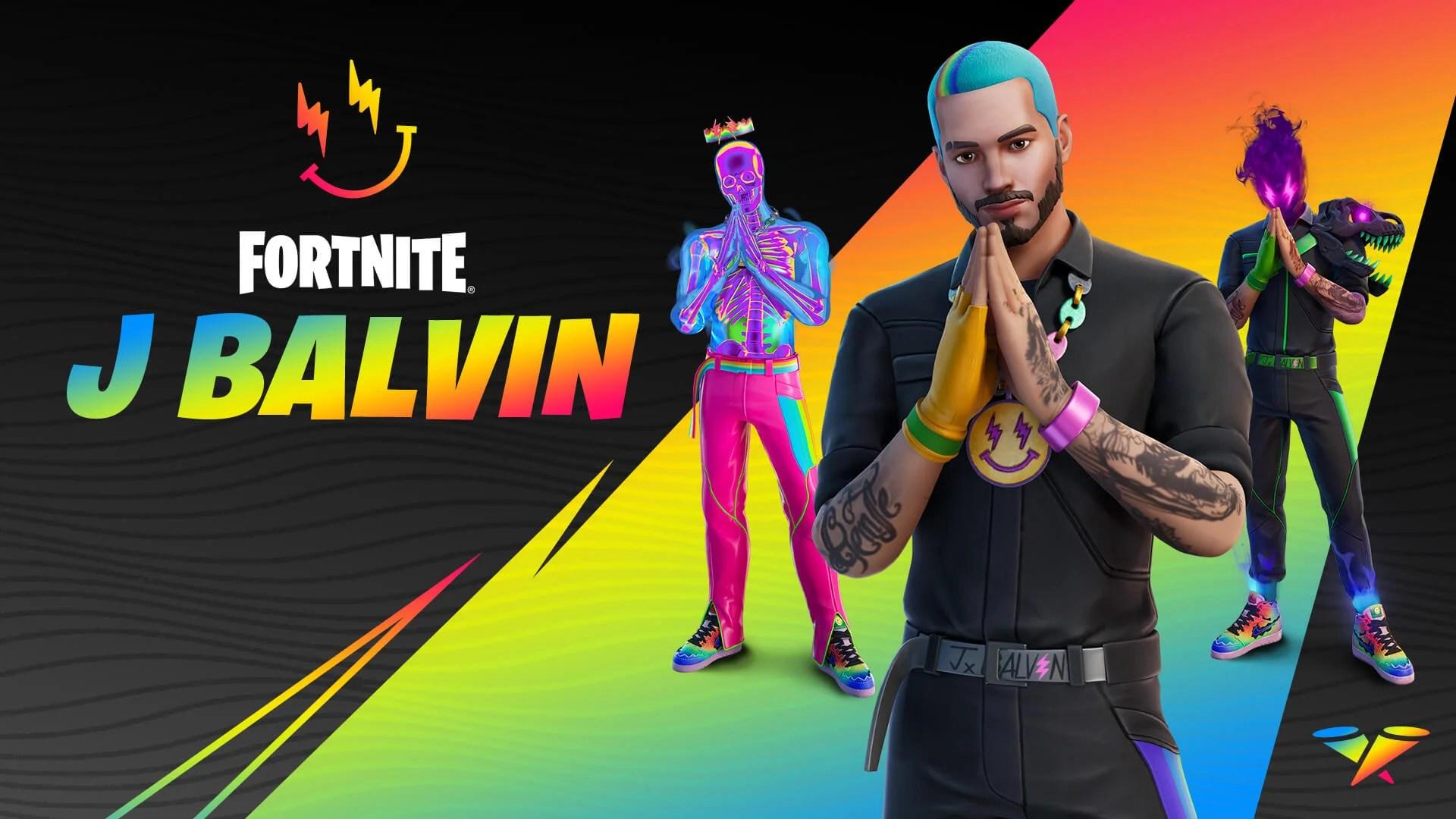 【フォートナイト】『J BALVIN』スキンがアナウンス。レゲトン界の顔がNewアイコンシリーズとして登場!【Fortnite】