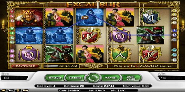 Excalibur Netent Slot