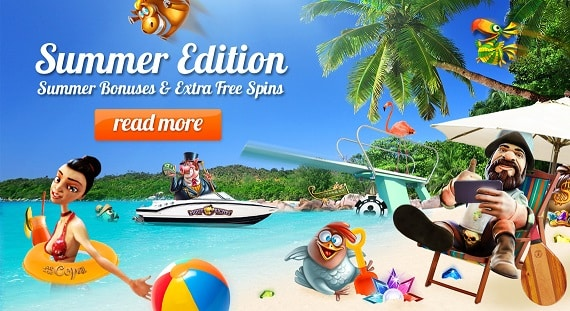 Florijn Casino bonuses & free spins