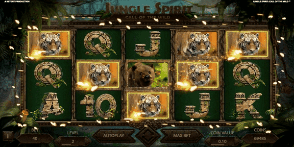 Jungle Spirit: Call of the Wild Netent Slot