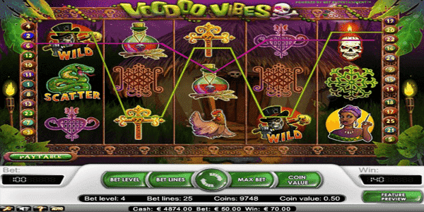 Voodoo Vibes Netent Slot