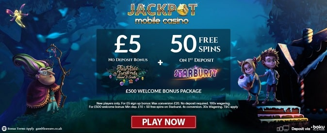 Jackpot Mobile Casino promotion