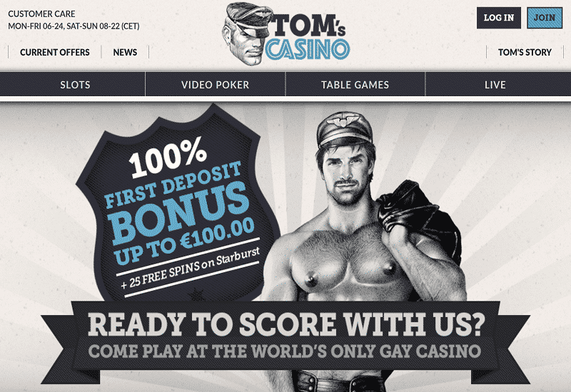 Tom's Casino Home Page
