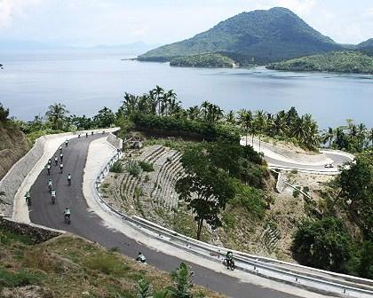Jalan berkelok pulau Weh