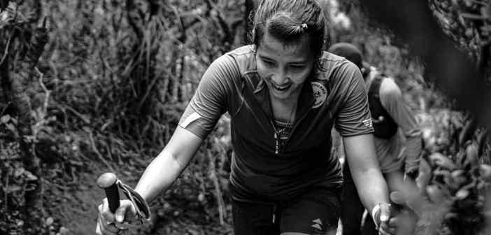 Ruth Theresia, juara Asia Trail Master 2018 ini menjadi pemilik FKT Gunung Gede Pangrango kategori wanita dalam waktu 5 jam 25 menit.
