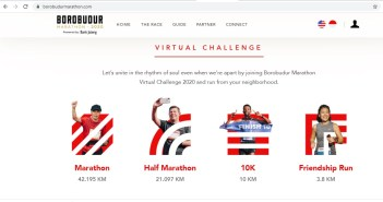 Virtual Run Borobudur Marathon