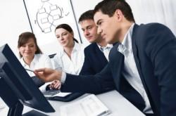 explaining website hosting to a business team