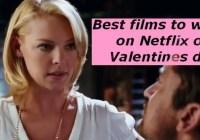 Best films on Valentines Day