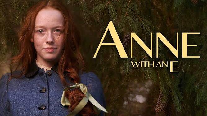 Anne with an e drama series on netflix