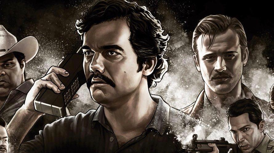 Narcos available in hindi dubbed