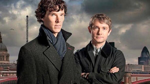 Sherlock detective show on netflix