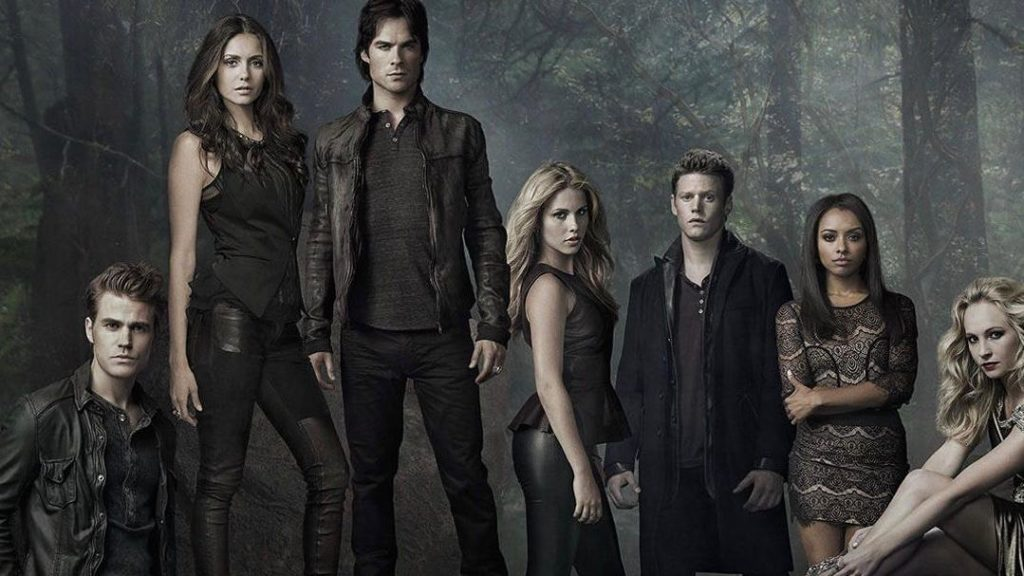 The Vampire Diaries available on netflix