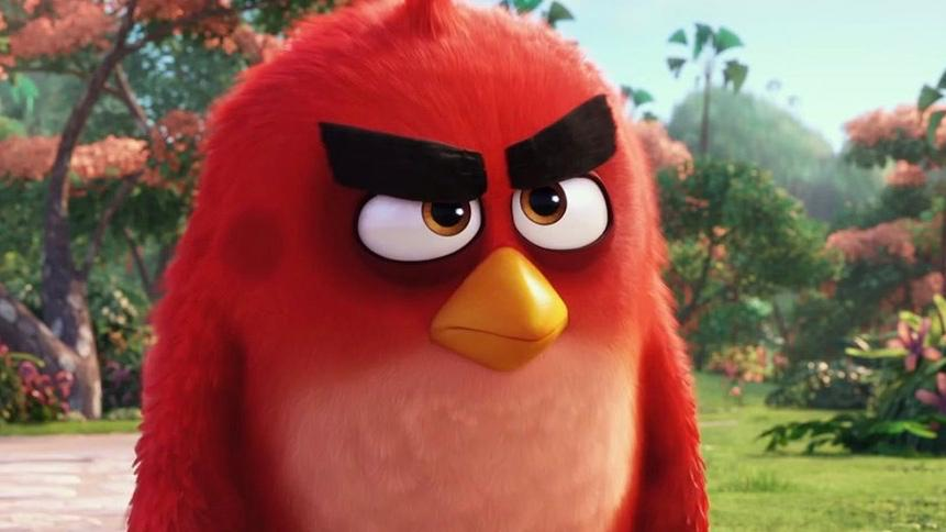 Angry Birds animated Movie