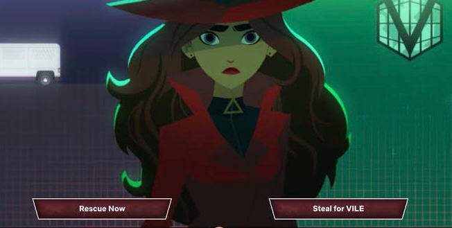 Carmen Sandiego to steal or not to steal netflix interactive