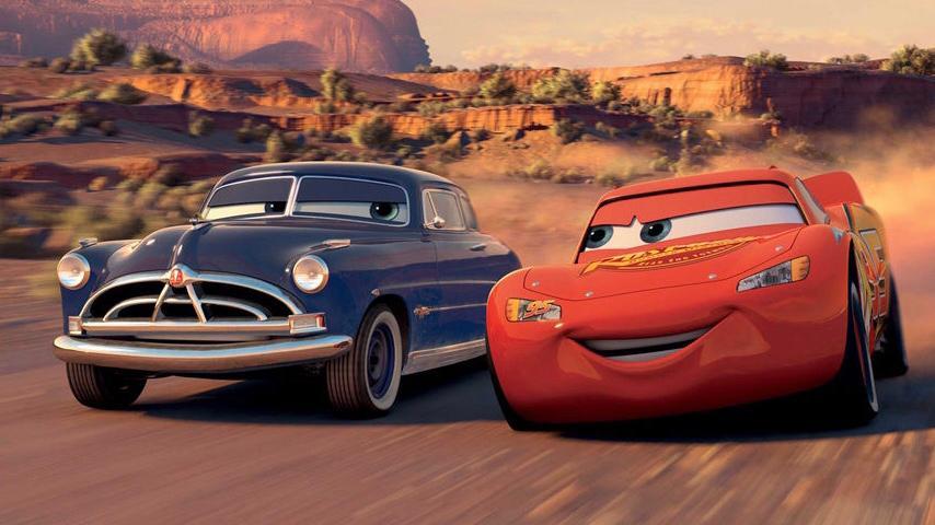 Cars animated movie on Netflix