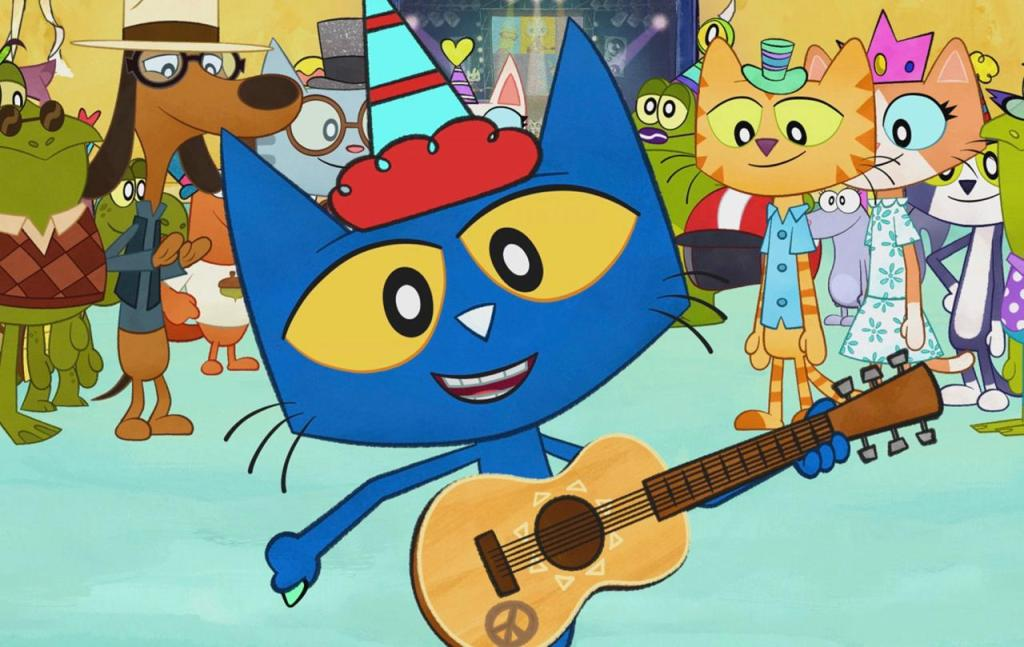 Show for Toddlers on Amazon Prime Pete The Cat