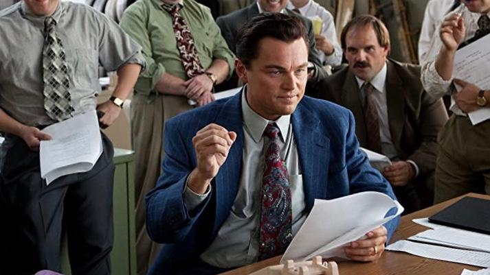 The Wolf of the Wall street movie on amazon prime