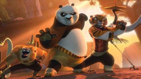 Best cartoon movie on Netflix Kung Fu Panda 2