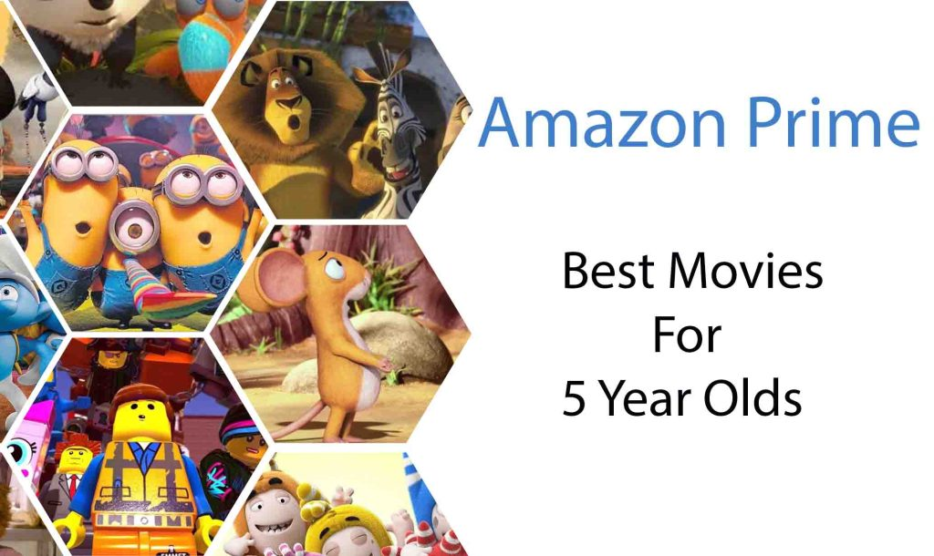 Best Movies on amazon prime for 5 year olds