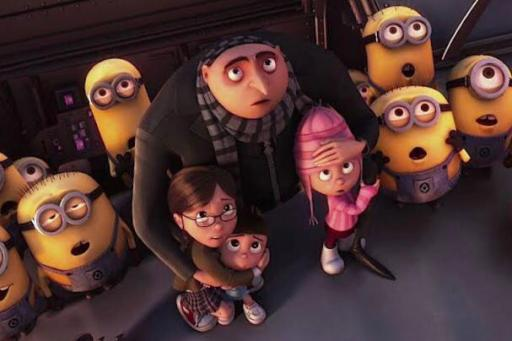 Despicable Me cartoon movie on netflix