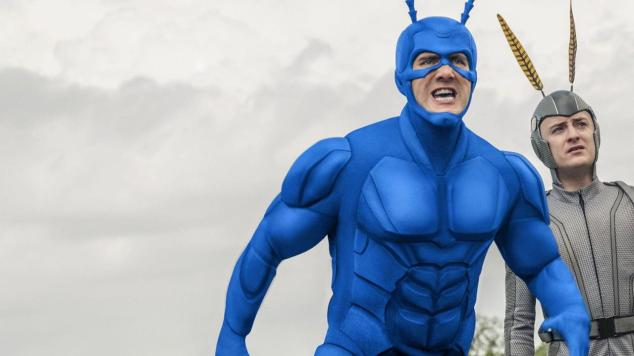 The Tick series on amazon prime video