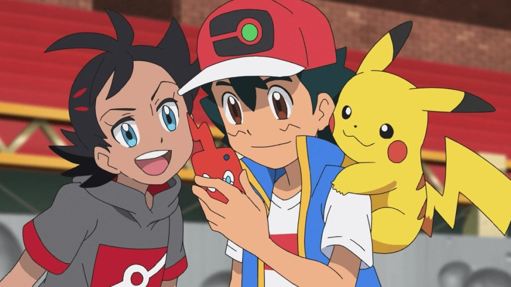 Pokemon Journeys The Series anime