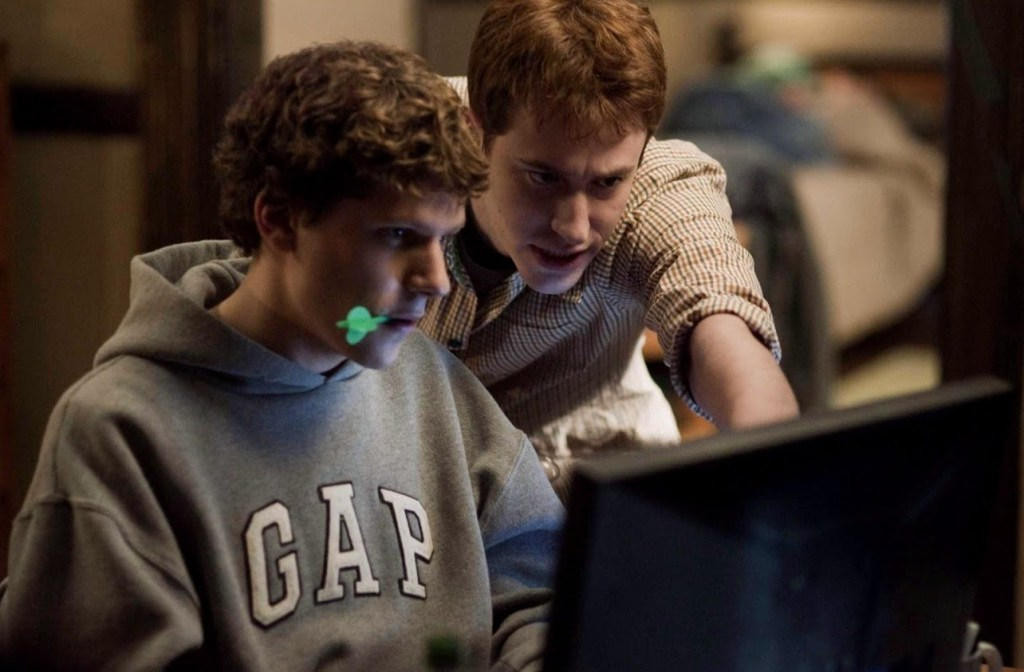 The Social Network best movie for entrepreneurs on Netflix
