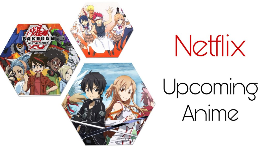 New Upcoming Anime on Netflix in October 2020