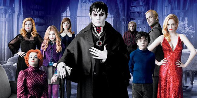 Dark Shadows, la comedia de terror de Tim Burton