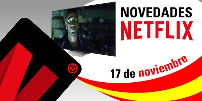 Novedades Netflix España: 17 de noviembre de 2017