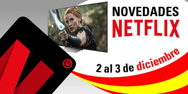 Novedades Netflix España: del 2 al 3 de diciembre de 2017