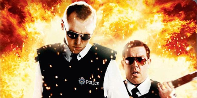 Hot Fuzz, una comedia policial en Netflix España