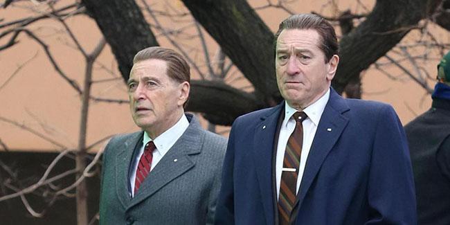 The Irishman, el filme de Scorsese por Netflix en otoño