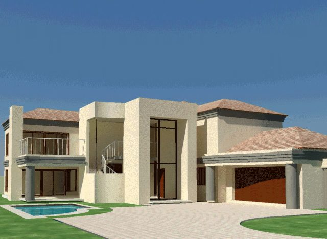 4 Bedroom House Plan | South African Home Designs ...