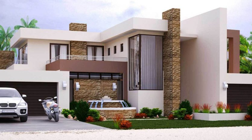Modern Home Design With 4 Bedrooms House Plans