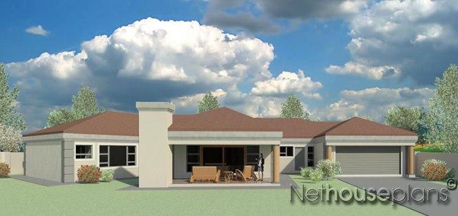 Modern Tuscan Style House Plan 4 Bedroom Single Y Floor Plans