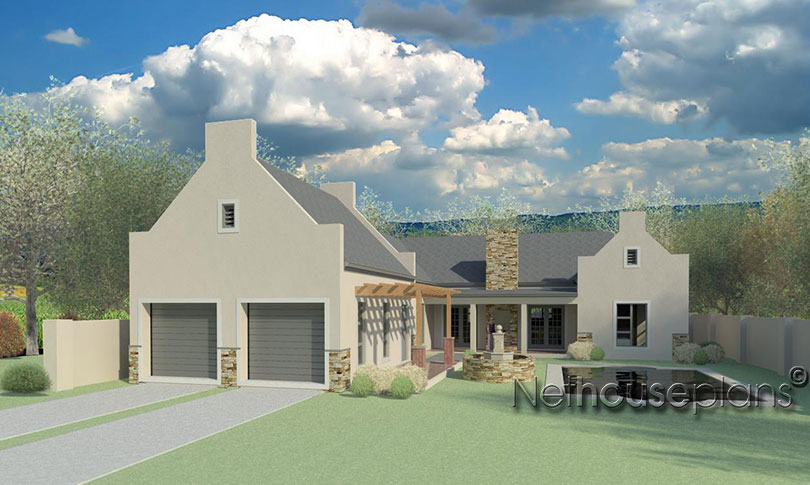 4 Bedroom Double Storey Home Design Net House Plan South