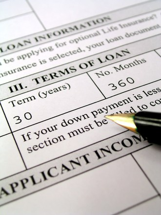 Loan Application Terms