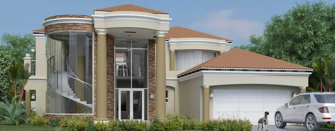 Modern Tuscan Style House Plans  Bedroom Double Storey Floor Plans Nethouseplans Architectural