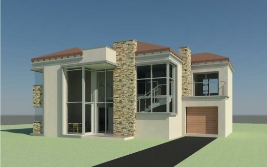 6 Bedroom Double Storey House plan, house plans south africa