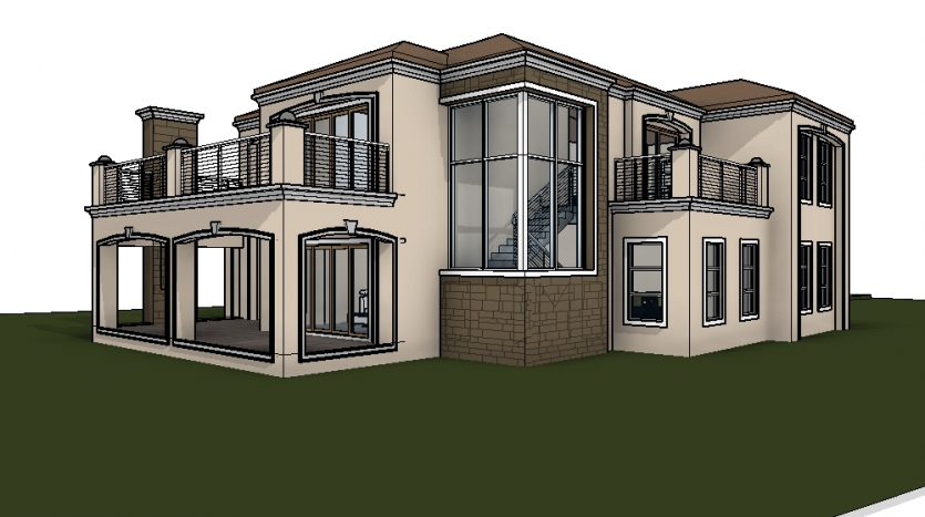 Home Design Plans 4 Bedroom House Plans South Africa Home Design House Plans  Double Story 3
