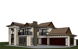 house plans south africa double storey 4 bedroom house plans southern living house plans Small house plans south africa building plans floor plans double story architectural designs 4 bedroom house plan, 4 bedroom online house plans South Africa, Bali Style 4 bedroom house plans SA by Nethouseplans, Fourways, South Africa 3D model 3D render 3D visualisation house plans with 3 garages double story house architectural design