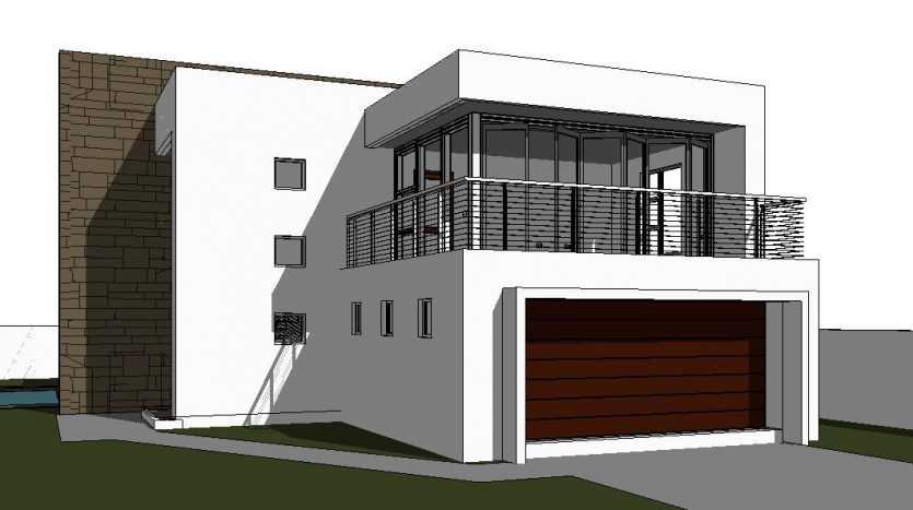 Modern 2 Storey House Design | 3 Bedroom House Plan ... on home plans with three bathrooms, home plans with a pool, home plans with a lanai,